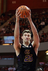 17 February 2018:  Bennett Koch during a College mens basketball game between the University of Northern Iowa Panthers and Illinois State Redbirds in Redbird Arena, Normal IL