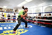 Thurman vs Diaz workout