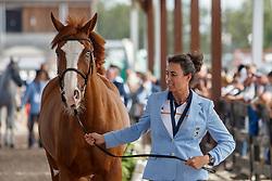 Pilar Cordon, ESP, Grand Cru vd Rozenberg<br /> World Equestrian Games - Tryon 2018<br /> © Hippo Foto - Sharon Vandeput<br /> 17/09/2018