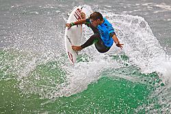 HUNTINGTON BEACH, California/USA (Sunday, August 8, 2010) - Alejo Muniz of Brazil at US Open of Surfing 2010 Mens Junior Pro Finals.