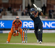 Ravi Bopara bats during the opening ICC World Twenty20 Cup match between England and Netherlands at Lord's. Photo © Graham Morris (Tel: +44(0)20 8969 4192 Email: sales@cricketpix.com)