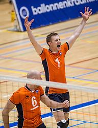 05-06-2016 NED: Nederland - Duitsland, Doetinchem<br /> Nederland speelt de laatste oefenwedstrijd ook in  Doetinchem en speelt gelijk 2-2 in een redelijk duel van beide kanten / Daan van Haarlem #1