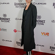 London, England, UK. 25th September 2017. Director Laura Schroeder of Barrage attend Raindance Film Festival Screening at Vue Leicester Square, London, UK