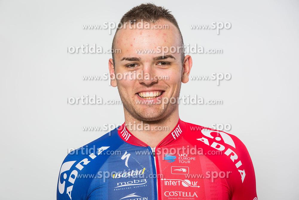 Dusan Rajovic during photo session of Cycling Team KK Adria Mobil, on January 22, 2018 in Novo Mesto, Novo Mesto, Slovenia. Photo by Vid Ponikvar / Sportida