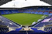 The Madejski Stadium during the EFL Sky Bet Championship match between Reading and Barnsley at the Madejski Stadium, Reading, England on 19 September 2020.