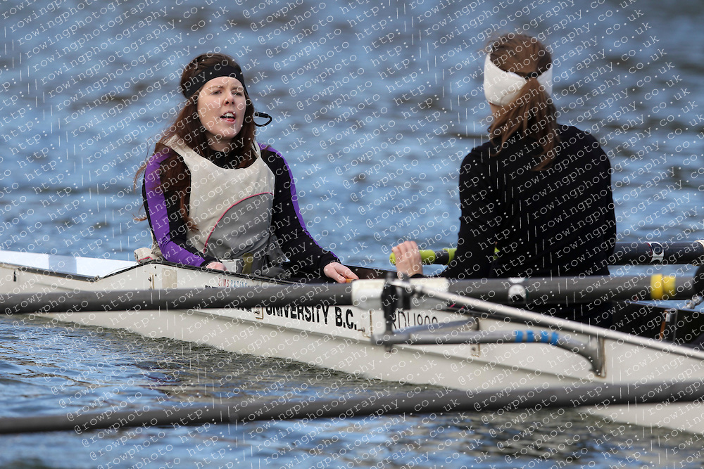 2012.02.25 Reading University Head 2012. The River Thames. Division 1. Reading University Boat Club B WNov 8+