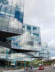 Modern buildings at Linsdholmen Science Park in Gothenburg Sweden