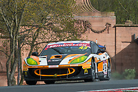 Century Motorsport #43 Ginetta G55 GT4 Steve Fresle/Jacob Mathiassen GT4 Pro/AM during British GT Championship as part of the BRDC British F3/GT Championship Meeting at Oulton Park, Little Budworth, Cheshire, United Kingdom. April 15 2017. World Copyright Peter Taylor/PSP.  Copy of publication required for printed pictures.  Every used picture is fee-liable. http://archive.petertaylor-photographic.co.uk