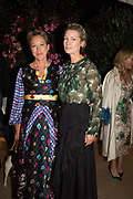 NIKKI TIBBLES; PIPPA VOSPER, spotted at Bloom & Wild's exclusive event at 5 Hertford Street last night. 5 September 2017. The event was announcing the new partnership between the UK's most loved florist, Bloom & Wild and British floral design icon Nikki Tibbles Wild at Heart. Cocooned in swaths of vibrant Autumn blooms, guests enjoyed floral-inspired cocktails from Sipsmith and bubbles from Chandon, with canapés put on by 5 Hertford Street. Three limited edition bouquets from the partnership can be bought through Bloom & Wild's website from the 1st September.  bloomandwild.com/WAH
