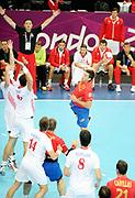 DESCRIZIONE : Handball Jeux Olympiques Londres <br /> GIOCATORE : Aguirrezabalaga Mikel<br /> SQUADRA : Espagne HOMME<br /> EVENTO :  Handball Jeux Olympiques<br /> GARA : Croatie Espagne<br /> DATA : 06 08 2012<br /> CATEGORIA : handball Jeux Olympiques<br /> SPORT : HANDBALL<br /> AUTORE : JF Molliere <br /> Galleria : France JEUX OLYMPIQUES 2012 Action<br /> Fotonotizia : France Handball Homme Jeux Olympiques Londres premier tour Copper Box<br /> Predefinita :