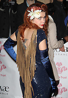 Paloma Faith The Prince's Trust Rock Gala, Royal Albert Hall, London, UK, 17 November 2010: piQtured Sales: Ian@Piqtured.com +44(0)791 626 2580 (picture by Richard Goldschmidt)