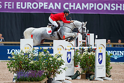 Siyahi Efe, TUR, Call Me Princess<br /> FEI European Jumping Championships - Goteborg 2017 <br /> © Hippo Foto - Stefan Lafrentz