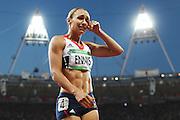 Olympics - London 2012 Olympic Games - Athletics - Women's Heptathlon - 4/8/12.Great Britain's Jessica Ennis .© pixathlon
