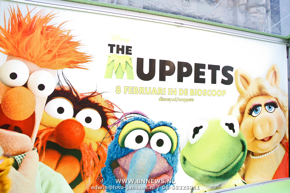 NLD/Amsterdam/20120121 - Filmpremiere The Muppets,
