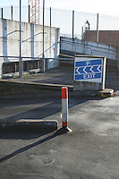 Exit ramp in car park Dublin city Ireland