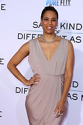 """Daphne Wayans at the Paramount Pictures And Pure Flix Entertainment's """"Same Kind Of Different As Me"""" Premiere held at the Westwood Village Theatre on October 12, 2017 in Westwood, California, USA (Photo by Art Garcia/Sipa USA)"""
