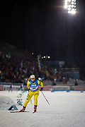 &Ouml;STERSUND, SVERIGE - 2017-12-03: Mona Brorsson under damernas jaktstart t&auml;vling under IBU World Cup Skidskytte p&aring; &Ouml;stersunds Skidstadion den 1 december 2017 i &Ouml;stersund, Sverige.<br /> Foto: Johan Axelsson/Ombrello<br /> ***BETALBILD***