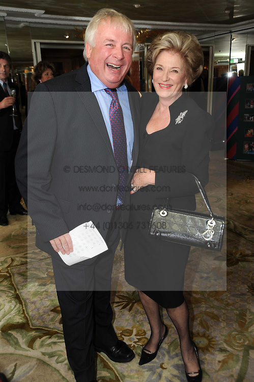 CHRISTOPHER BIGGINS and DAME MAUREEN THOMAS at the Lady Taverners Tribute Lunch in honour of Nicholas Parsons held at The Dorchester, Park Lane, London on 20th November 2009.