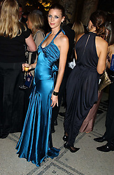 Model LIBERTY ROSS  at the 2005 British Fashion Awards held at The V&A museum, London on 10th November 2005.<br />