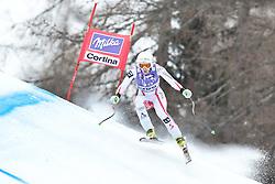 20.01.2011, Tofana, Cortina d Ampezzo, ITA, FIS World Cup Ski Alpin, Lady, Cortina, Abfahrt 2. Training, im Bild Regina Mader (AUT, #30) // Regina Mader (AUT) during FIS Ski Worldcup ladies downhill second training at pista Tofana in Cortina d Ampezzo, Italy on 20/1/2011. EXPA Pictures © 2011, PhotoCredit: EXPA/ J. Groder