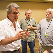 Dr. Ockert Botha at the AU Pigeon Convention in Tampa, Fl., on Thursday, November 21, 2013. Photo by David Stephenson