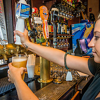 Blue Moon beer at Romano's on Canyon Crest Dr. in Riverside, Aug. 28, 2014.  (Eric Reed/Redlands Magazine)