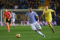 January 27, 2018 - Vila-Real, Castellon, Spain - William Jose of Real Sociedad during the La Liga match between Villarreal CF and Levante Union Deportiva, at Estadio de la Ceramica, on January 26, 2018 in Vila-real, Spain  (Credit Image: © Maria Jose Segovia/NurPhoto via ZUMA Press)