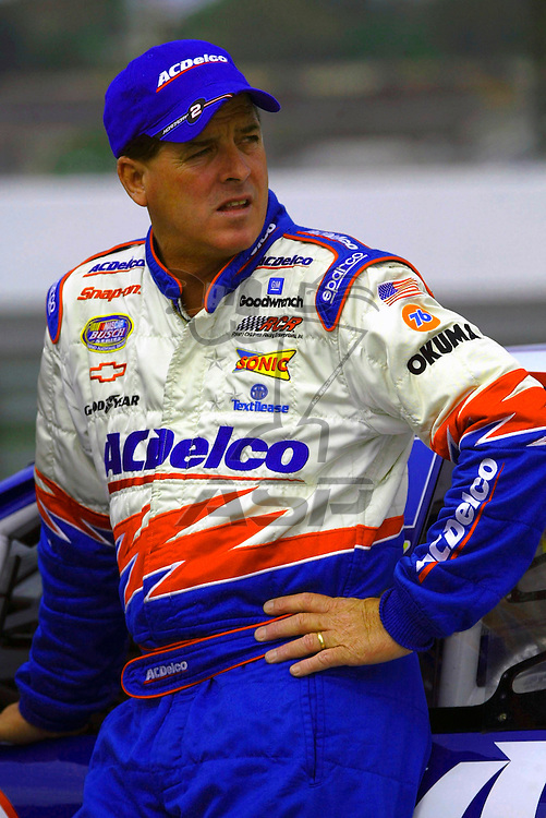 Ron Hornaday qualified third at Nazareth Speedway for the running of the Goulds Pumps ITT Industries 200 NASCAR Busch Grand National race in Nazareth, Pennsylvania.
