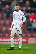 Craig Wighton (#15) of Heart of Midlothian during the William Hill Scottish Cup quarter final replay match between Heart of Midlothian and Partick Thistle at Tynecastle Stadium, Gorgie, Edinburgh Scotland on 12 March 2019.