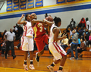 Lafayette High vs. North Panola in girls high school basketball at the OTown Showdown at Oxford High School in Oxford, Miss. on Thursday, December 29, 2011.
