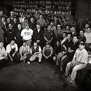 Factory Workers at Hermanns Metal Spinning in Glendale California