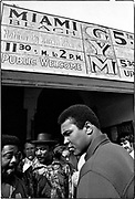 Muhammad Ali - 5th St Gym/Miami Beach, FL      Tri-X       February 1971<br /> training/workout prior to meeting Joe Frazier in &quot;The Fight of the Century&quot; in NYC (March 1971)