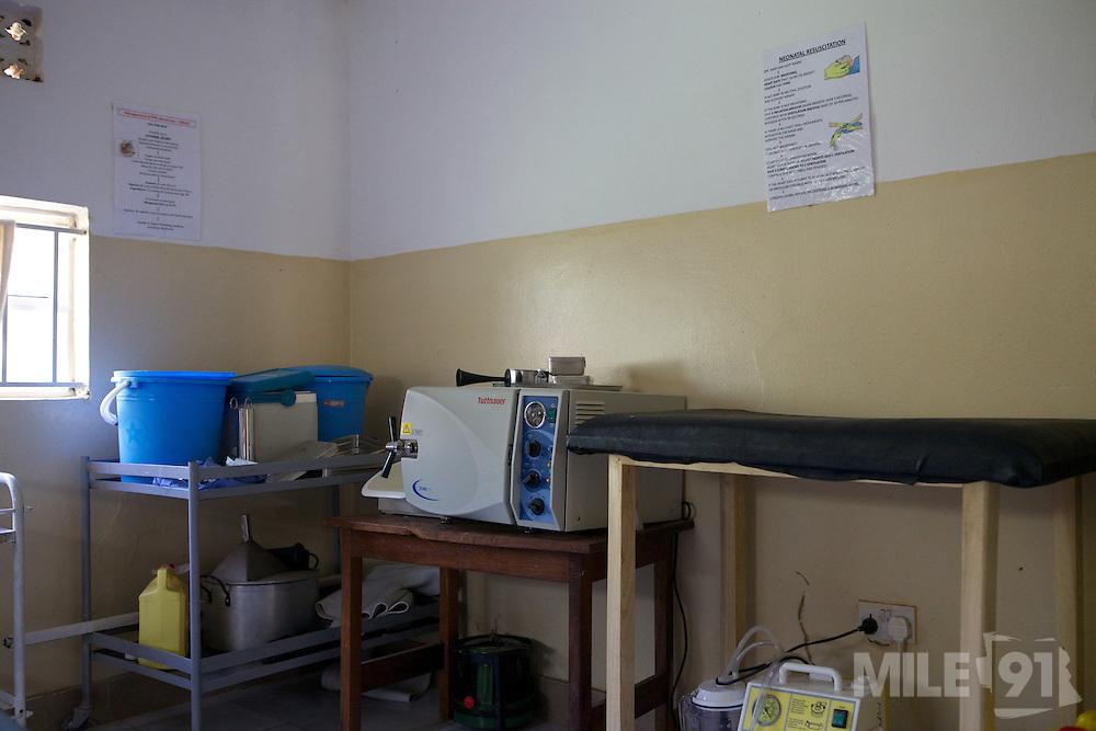 Inside a labour ward in Uganda.