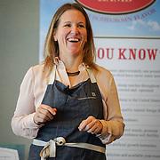 American Lamb Board Global Flavors Lamb Tour: Lamb Jam Seattle. Curriculamb VIP seminar. Holly Smith Executive Chef, Cafe Juanita.