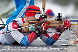 DAVIDOVICH Aleksandr, RUS, Short Distance Biathlon, 2015 IPC Nordic and Biathlon World Cup Finals, Surnadal, Norway