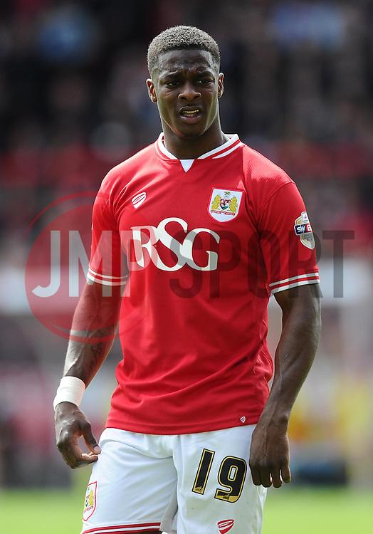 Bristol City's Kieran Agard  - Photo mandatory by-line: Joe Meredith/JMP - Mobile: 07966 386802 - 03/05/2015 - SPORT - Football - Bristol - Ashton Gate - Bristol City v Walsall - Sky Bet League One