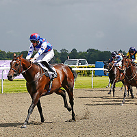 Attraction Ticket and D E Egan winning the 2.30 race