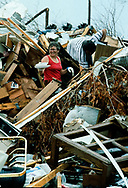 Hurricane Andrew was a Category 5 Atlantic hurricane that struck the Bahamas and Florida in mid-August 1992. On August 24 Andrew hit Florida and Homestead killing 44 and causing a record $25 billion in damage.
