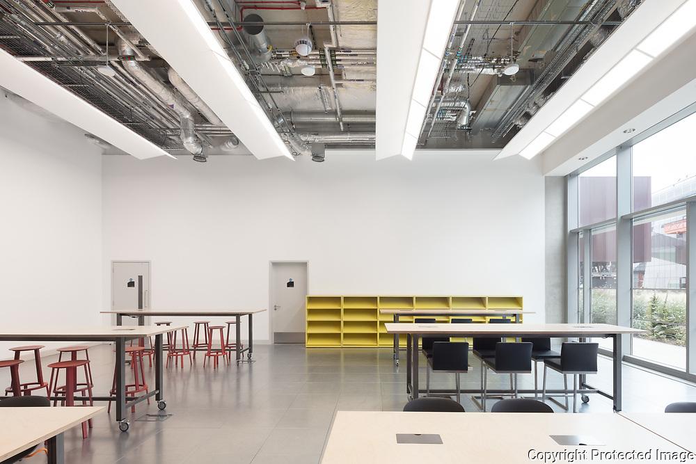 Plexal, London, July 2017. Architect: Grimshaw