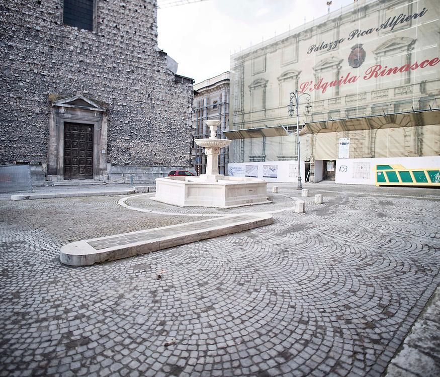 Piazza Santa Margherita L'Aquila