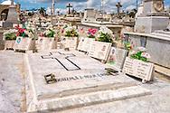 Cemetery in Holguin, Cuba.