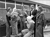 1980 - Tony O'Reilly at Dublin Airport