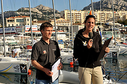 Redhanded TV presenters Mark Chisnell and Hannah White. Photo:Chris Davies/WMRT