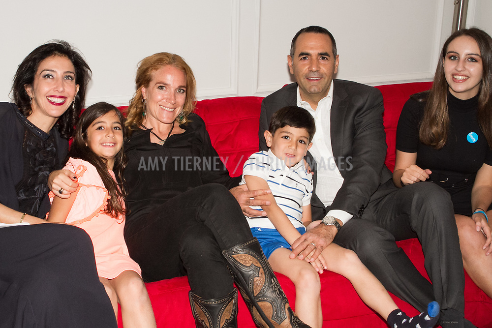 Ouri family with Arwa Damon, CNN Senior International Correspondent and Founder, INARA