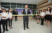 Felix Fraga comments during The Rusk School ribbon cutting ceremony, April 7, 2014.