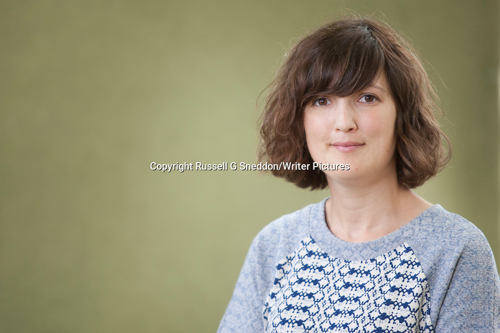 Katie Green at the Edinburgh International Book Festival 2014. 9th August 2014<br /> <br /> Picture by Russell G Sneddon/Writer Pictures