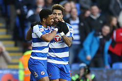 Goal, Daniel Williams of Reading scores, Reading 1-0 Blackburn Rovers - Mandatory byline: Jason Brown/JMP - 07966 386802 - 20/12/2015- FOOTBALL - Madejski Stadium - Reading, England - Reading v Blackburn Rovers - Sky Bet Championship