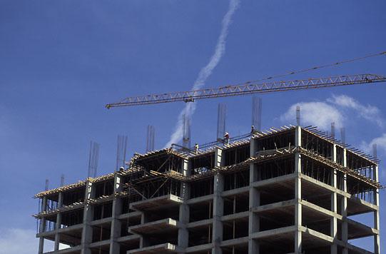 Edificio en construccion, Caracas, Venezuela