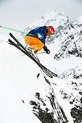 Ski action photo shoot for the Ski Club of Great Britain in Kühtai, Austria.