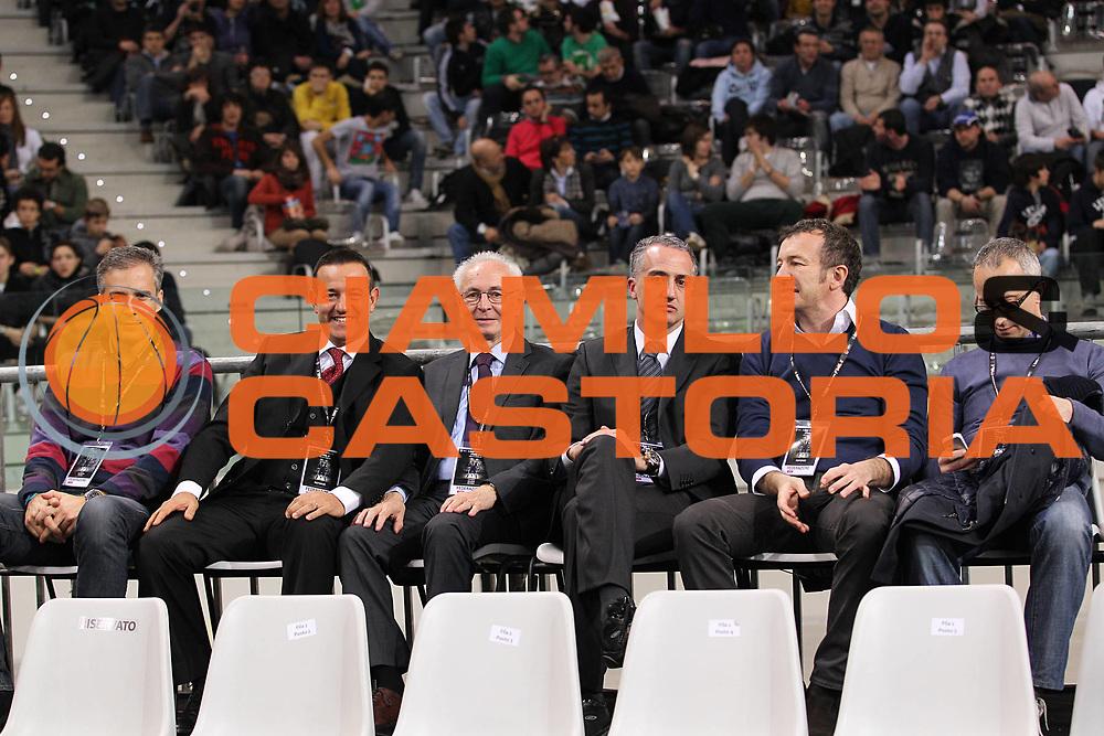 DESCRIZIONE : Torino Coppa Italia Final Eight 2011 Semifinale Montepaschi Siena Fabi Shoes Montegranaro<br /> GIOCATORE : referee<br /> SQUADRA : <br /> EVENTO : Agos Ducato Basket Coppa Italia Final Eight 2011<br /> GARA : Montepaschi Siena Fabi Shoes Montegranaro<br /> DATA : 12/02/2011<br /> CATEGORIA : referee<br /> SPORT : Pallacanestro<br /> AUTORE : Agenzia Ciamillo-Castoria/C.De Massis<br /> Galleria : Final Eight Coppa Italia 2011<br /> Fotonotizia : Torino Coppa Italia Final Eight 2011 Semifinale Montepaschi Siena Fabi Shoes Montegranaro<br /> Predefinita :